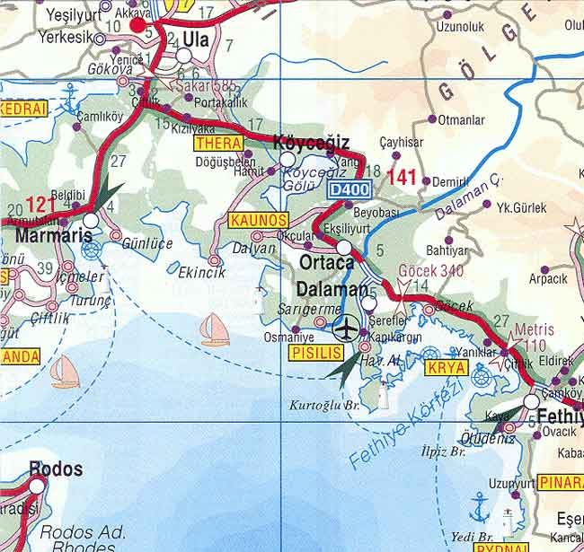 How to get to Dalyan? – Transportation in Dalyan?